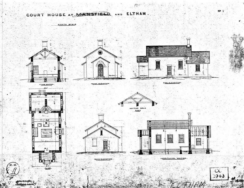 199 - Court House 730 Main Rd Eltham 07 - Shire of Eltham Heritage Study 1992