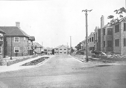Coolullah Avenue, c1936
