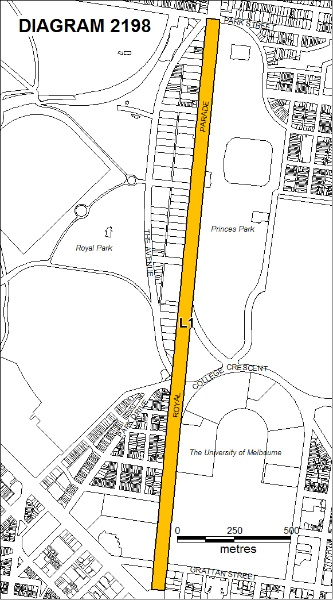 H2198 royal parade plan