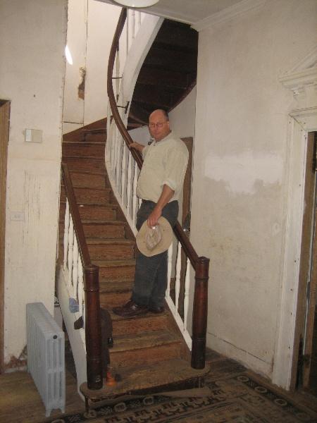 Watford Cottage Avoca 1 Nov 2008 mz Staircase 01