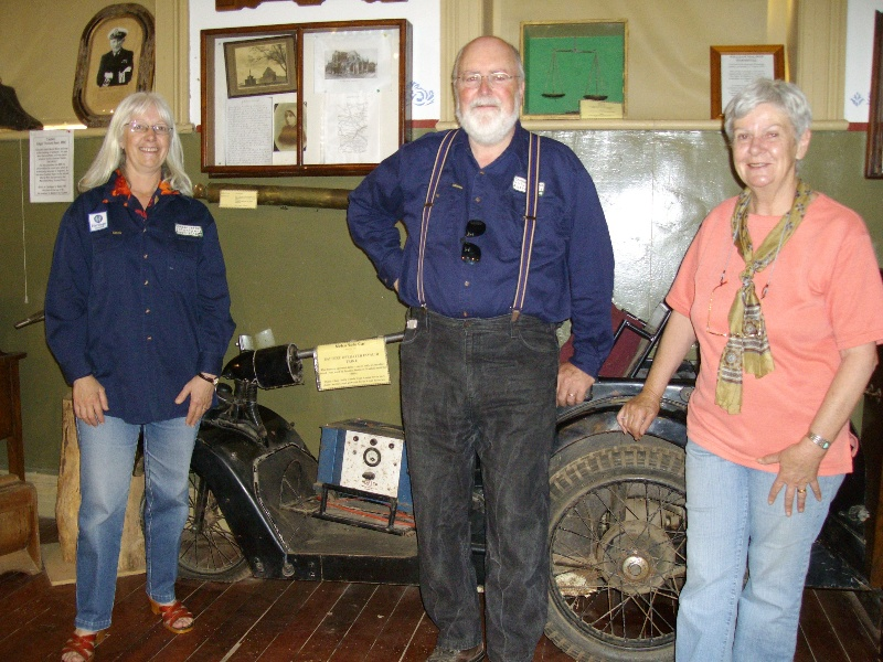 H1390 Maldon Museum Angelika Clarke Peter Cuffley and Barbara Smith
