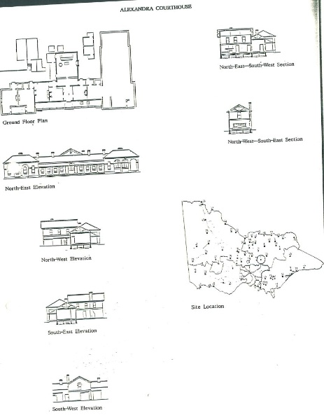 Alexandra court house plans