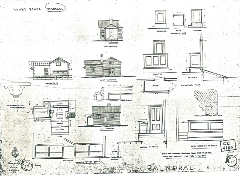Balmoral Court House plan