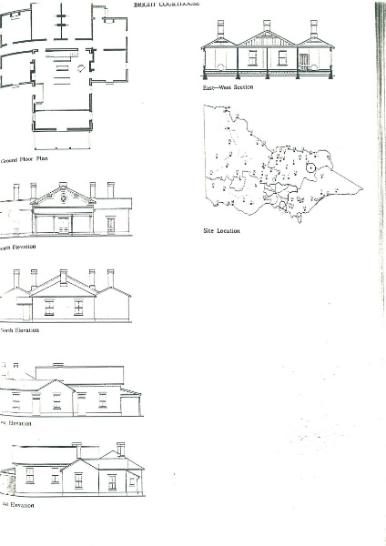 Bright court house architectural plans
