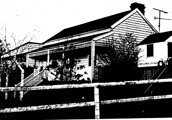 225 - Yarra Vale Cottage 188 Mt Pleasant Rd - Shire of Eltham Heritage Study 1992