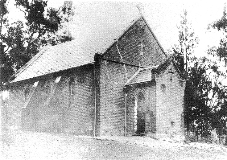 247 - St Margarets Anglican Church Eltham 17 - Demolished Eltham Catholic Church (ELHPC No. 681) - Shire of Eltham Heritage Study 1992
