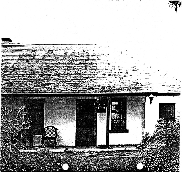 268 - Sweeneys Cottage Eltham - Shire of Eltham Heritage Study 1992
