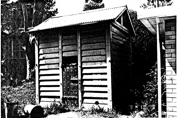 277 - Portable Timber Lock Up Eltham - Shire of Eltham Heritage Study 1992