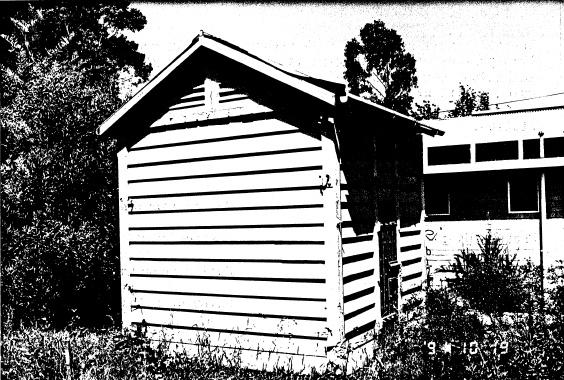 277 - Portable Timber Lock Up Eltham 02 - Shire of Eltham Heritage Study 1992