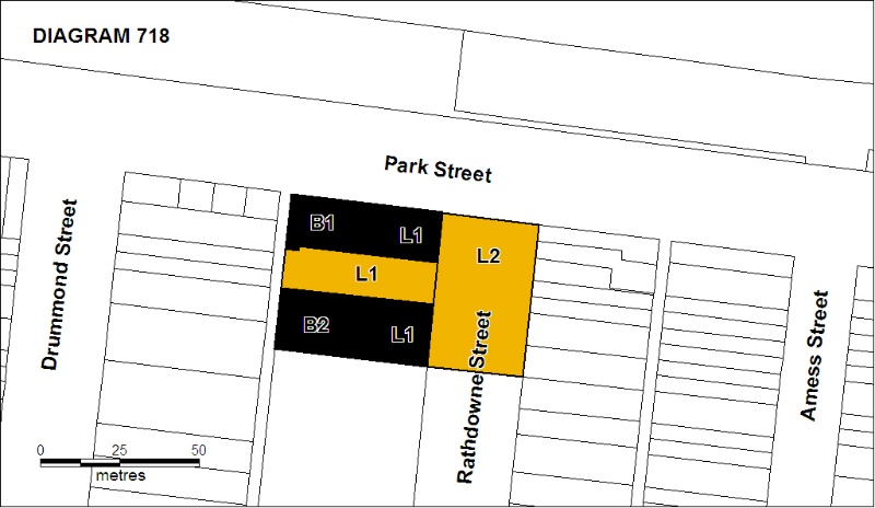 North Carlton Cable Tram Engine House Plan Sept 2008 mz