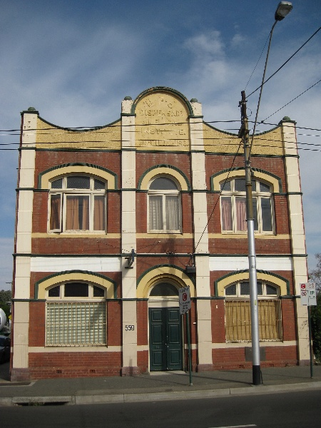 United Friendly Societies Dispensary (former) - 559 Sydney Road, Coburg
