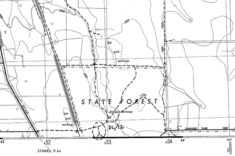 DL 12 - Map Name Glenorchy XE 528 038 - Shire of Northern Grampians - Stage 2 Heritage Study, 2004