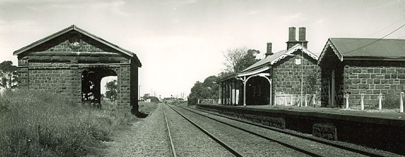 B2285 Railway Station & Goods Shed