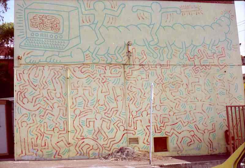 B6675 Haring Mural