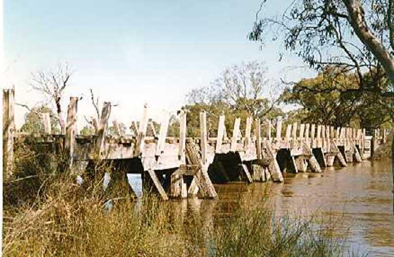 B7067 Jeparit Bridge