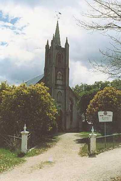 B1921 St Andrew's Presbyterian Church Beechworth