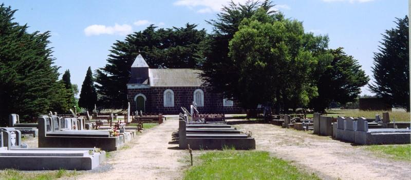 B2264 St David's Lutheran Church & Cemetery Anglesea Rd Freshwater Creek