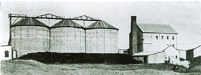 B6331 Rupanyup Wheat Silos