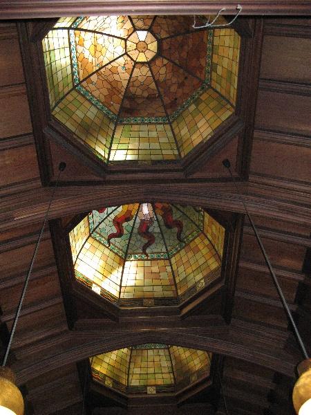 Tay Creggan_Hawthorn_domes in billiard room_KJ_Feb 09