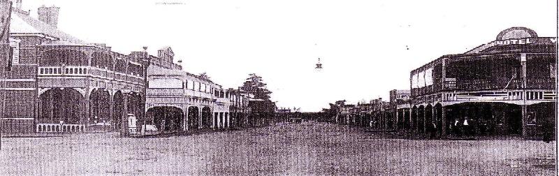 SD 169b - c.1920 Photograph showing original verandah decoration. State Library of Victoria.
