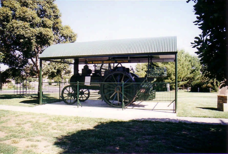 SD 191 - Traction Engine, North Western Road, ST ARNAUD