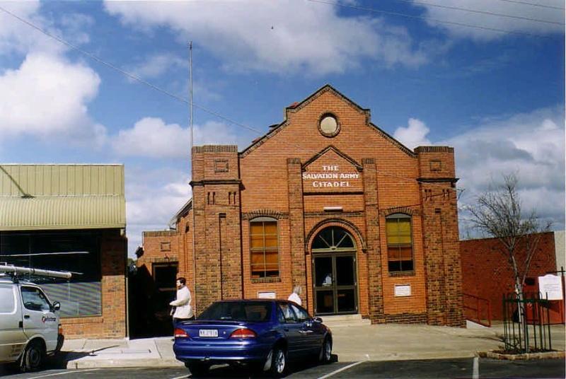 SL 183a - Salvation Army Citadel, 50 Main Street, STAWELL