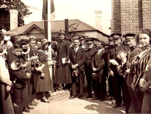 SL 183b - opening of the Citadel, Stawell Historical Society.