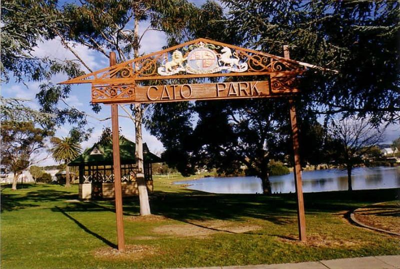 SL 386 - Cato Park, including Rotunda, Victoria Street, STAWELL