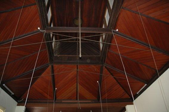Mechanics institute Hamilton billiardsroof