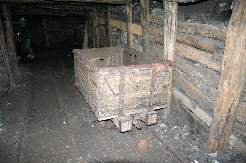 H0198 Wonthaggi State Coal Mine Eastern Precinct H198 July 2007 PM2 trolley55