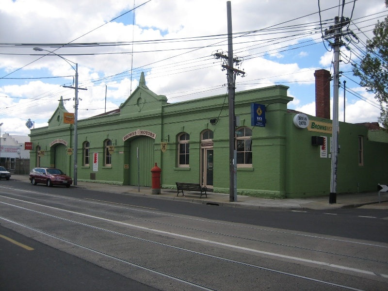 Northcote Tramways Building Thornbury Oct 2007 mz Front Elevation 01