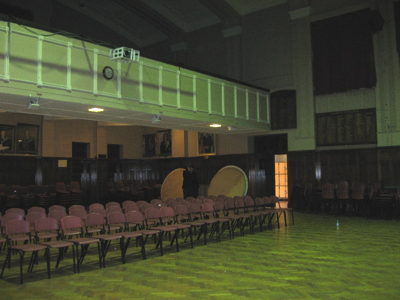 H1636 MHS memorial hall interior June 2009