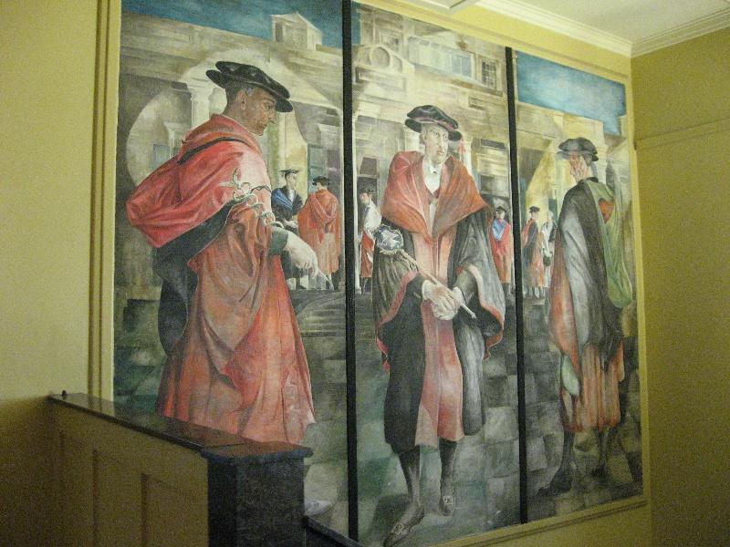 H1636 MHS Len Annois 1956 mural June 2009