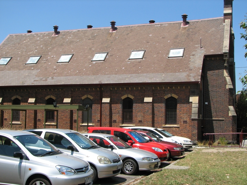 FORMER METHODIST CHURCH SOHE 2008