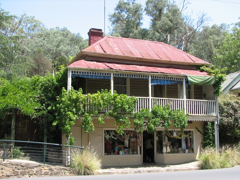 FORMER WARRANDYTE WINE HALL SOHE 2008