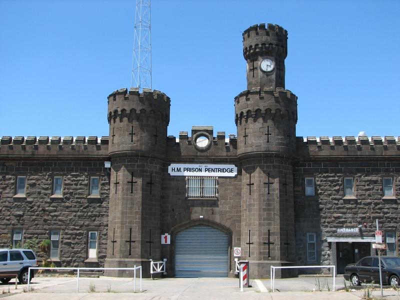 HM PRISON PENTRIDGE SOHE 2008