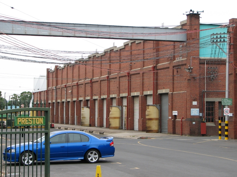 PRESTON TRAMWAY WORKSHOPS SOHE 2008