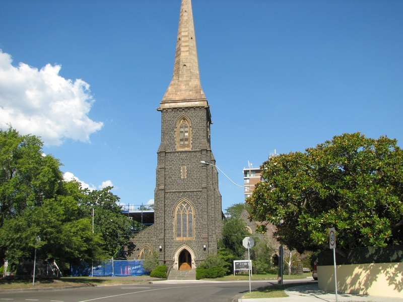 ST JOHNS CHURCH OF ENGLAND SOHE 2008