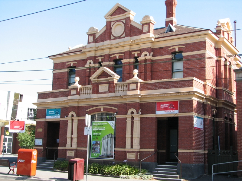 FORMER ELSTERNWICK POST OFFICE SOHE 2008