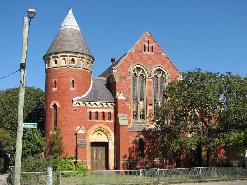 FORMER UNION CHURCH SOHE 2008