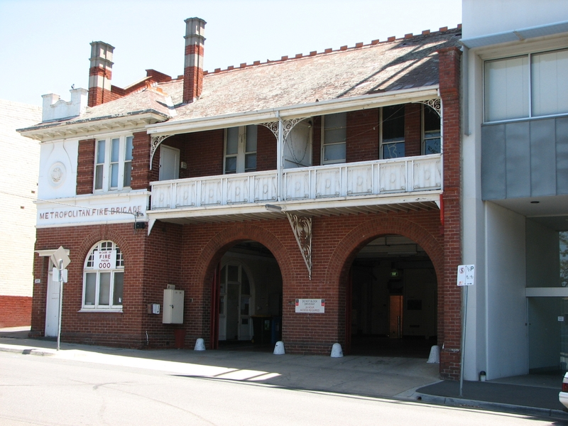 FORMER HAWTHORN FIRE STATION SOHE 2008