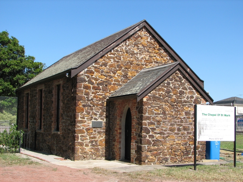 FORMER ST JOHN'S THE LESS ANGLICAN CHURCH AND SCHOOLROOM SOHE 2008