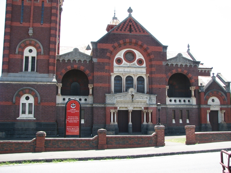 AUBURN UNITING CHURCH COMPLEX SOHE 2008