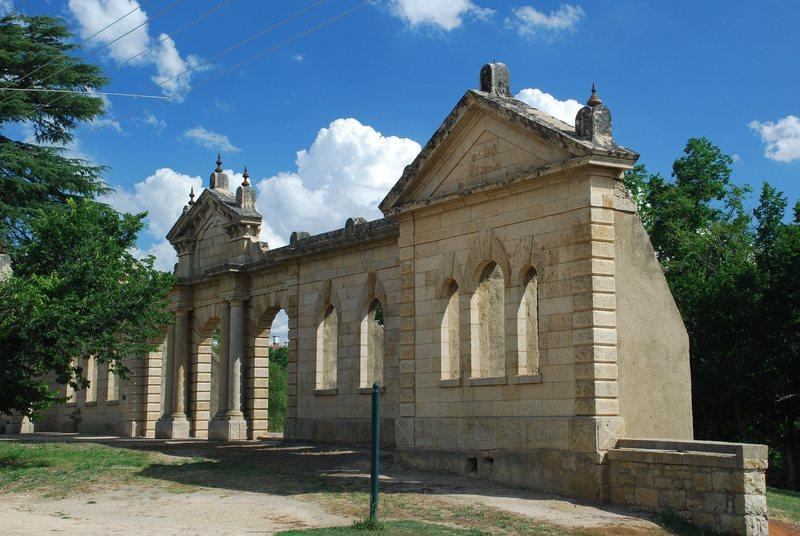 OLD HOSPITAL RUINS SOHE 2008