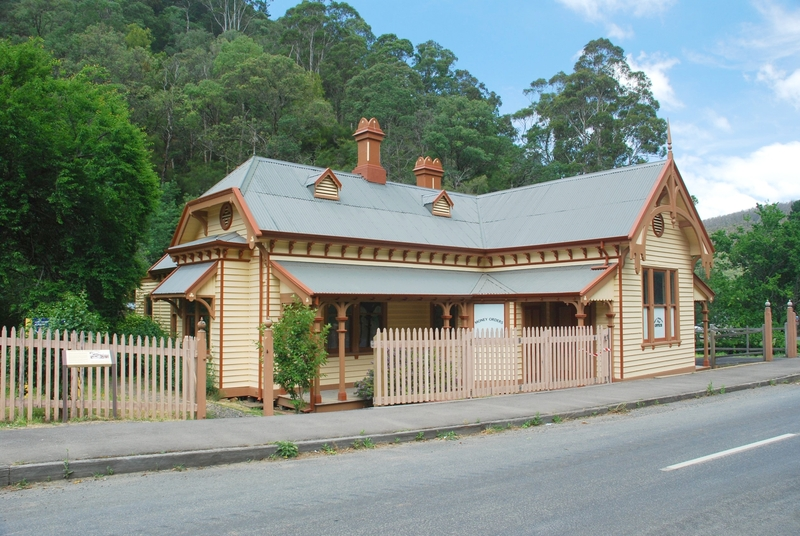 FORMER WALHALLA POST OFFICE AND RESIDENCE SOHE 2008