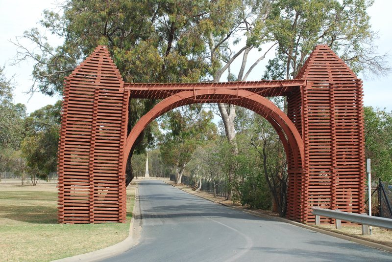 RED GUM MEMORIAL ARCHWAY SOHE 2008