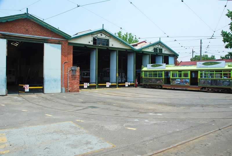 BENDIGO TRAM SHEDS, OFFICES AND POWER STATION SOHE 2008