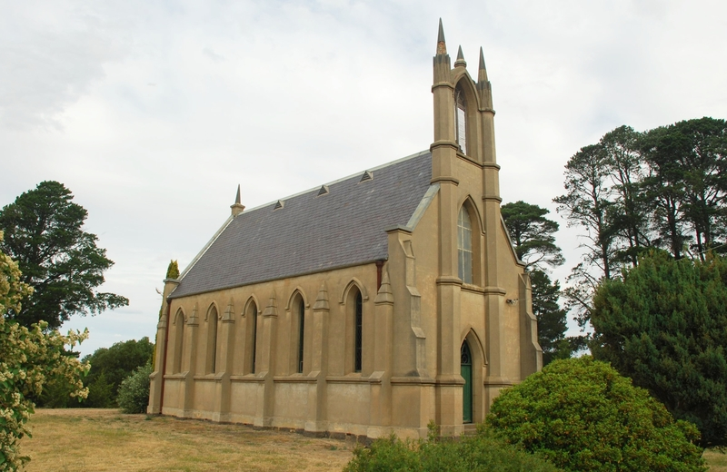 HOLY TRINITY ANGLICAN CHURCH AND SUNDAY SCHOOL HALL SOHE 2008