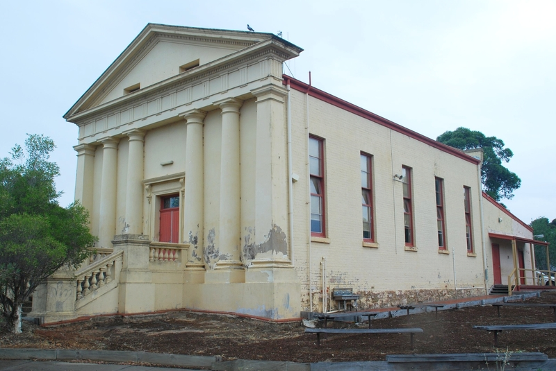 FORMER EAGLEHAWK EAST METHODIST CHURCH SOHE 2008