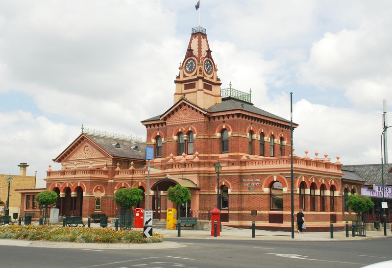 TRARALGON POST OFFICE AND COURT HOUSE SOHE 2008